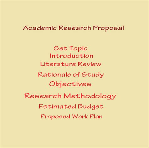 How to develop a research proposal